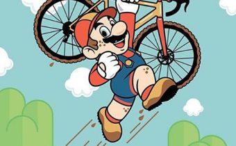 Super Mária bicykluje!