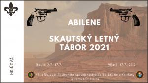 Skautský tábor 2021- Abilene